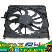 For Bmw X5 E70 2007-2010 Radiator Electric Cooling Fan Assembly 17427533558 Gas
