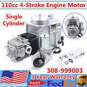 4-stroke 110cc Electric Start Motor Engine Auto Trans Air Cooled For Atv Go Kart