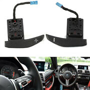 1 Pair Steering Wheel Gear Shift Paddle For Bmw 1 2 3 4 Series X3 F25 X4 F26 Etc
