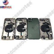 Iphone 11,11 Pro Max Back Housing Glass Battery Cover Frame Assembly Small Parts