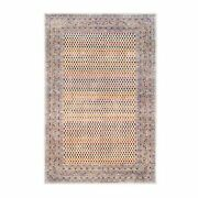 5and03910x9and039 Colorful Wool And Sari Silk Saroogh Hand Knotted Rug R62317
