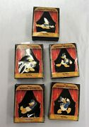 Donald Duck 5 Different Disneyand039s Magical Moments Limited Ed Pins Nib 15000 Made