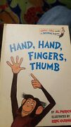 Hand Hand Fingers Thumb By Al Perkins 1969 Collectible