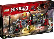 Lego Ninjago S.o.g. Headquarters 70640 Building Kit