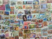 2000 Different Channel Islands - Jersey/guernsey Stamps Collection