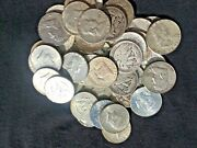 The Mixed Halves Deal 90 Lot Old Us Junk Silver Coin 1 Lb 16 Oz. 1964 One