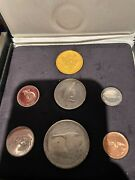 1967 Royal Canadian Mint Canada Centennial 20 Gold And Silver Specimen Coin
