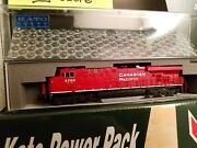 Kato-n-scale Cp Es44ac Intermodal Hand Picked Train Set Complete Outfit Rtr