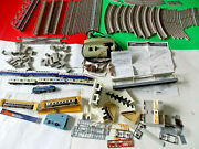 Tomix Passenger N Scale Train Set + Track, Transformer, Extra Cars And Buildings