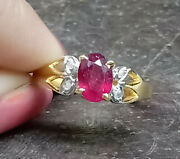Antique Pink Ruby