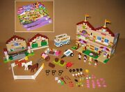 3185 Lego Friends Summer Riding Camp – 100 Complete W Instructions Ex Cond 2012