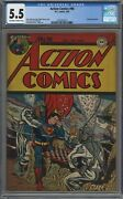 Action Comics 96 Cgc 5.5 Off-white To White Pages 1946