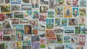 500 Different Congo - French Stamp Collection