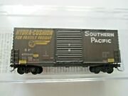 Micro-trains 10144060 Southern Pacific Weathered 40' Hy-cube Boxcar N-scale