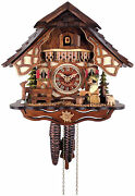 Beer Drinker  Quality Hand-carved, Traditional German Cuckoo Clock 26-11