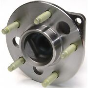 512003 Moog New 4-wheel Abs Wheel Hubs Rear Driver Or Passenger Side For Chevy