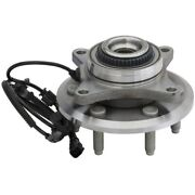 515142 Moog New 4wd 4x4 W/ Abs Wheel Hubs Front Driver Or Passenger Side Rh Lh