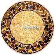 Royal Gemstone Antique Marble Inlay Modern Coffee Table Top Art Real Decor H3241