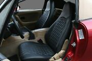 2001-2005 Mazda Miata Diamond Stitched Quilted Front Seat Covers