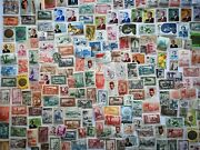 500 Different French Morocco Stamp Collection