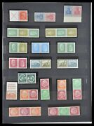 Lot 33322 Stamp Collection German Reich Combinations 1921-1941.