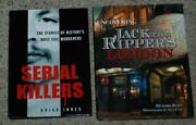 Lot 2 Serial Killers By Brian Innes And Uncovering Jack The Ripper's London Books