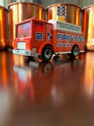Vintage 1992 Matchbox Intl No 57-h Mack Auxiliary Power Truck Neon Red Near Mint