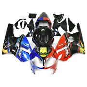 Motorcycle Abs Plastic Fairings For Zx-12r 2000 2001 Blue Red Shark Zx12r 00 01