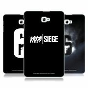 Official Tom Clancy's Rainbow Six Siege Logos Back Case For Samsung Tablets 1