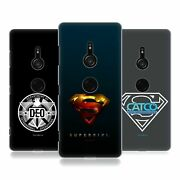 Official Supergirl Tv Series Graphics Hard Back Case For Sony Phones 1