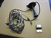 1969 Corvette Factory Alarm System Harness Horn And Relay 427 350 435 400 390