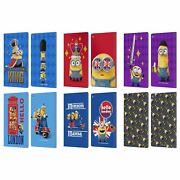 Official Minions Minion British Invasion Leather Book Case For Fire