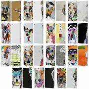 Official Michel Keck Dogs 3 Leather Book Wallet Case Cover For Fire