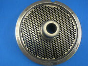 56 X 1/8 Holes Meat Grinder Plate For Hobart Biro Butcher Boy Exc Condition