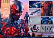 Hot Toys Sideshow Exclusive Vgm42 Spiderman Spider-man 2099 Black Suit In-hand