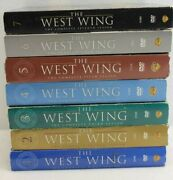 Lot Of 7 The West Wing Dvd Full Series Complete Season 1-7 Scpl