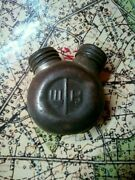 Mosin-nagant Russian Double Sided Gun Oil / Solvent Container In Cosmoline Wwii
