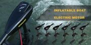 Electric Motor For Inflated Boat Electric Vessel Outer Engine Propeller 4 18km