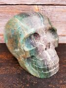Large Quantum Quattro Crystal Skull - Beautifully Carved - Us Seller