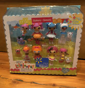 Mini Lalaloopsy Littles- Sisters- Walmart Exclusive 8 Dolls And Pets New Retired