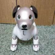 Very Rare Sony Aibo Ers-1000 Japan Used White Robot Dog Very Good W Tracking