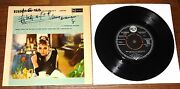 Breakfast At And039s Uk Ep Signed By Henry Mancini Audrey Hepburn Uacc Dealers