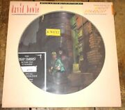 David Bowie Ziggy Stardust Limited Edition Uk Rca Picture Disc 1984