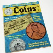 Coins The Magazine Of Coin Collecting January 1972 Vintage