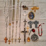 Lot Of Vintage Religious Christian Jewelry