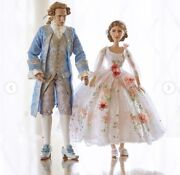 Disney Beauty And The Beast Live Action Platinum Doll Set Belle And Le500 New