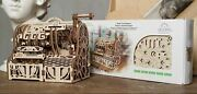 Ugears 405 Parts Cash Register Wooden Mechanical Model Brand New Free Shipping