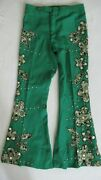 Vintage 70and039s Studded And Patched Bell Bottom Pants Worn By Bobby Womack