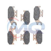 6pcs F+r Brake Pads For 07 08 09 2010 2011 2012 Can Am Outlander 400 500 650 800