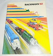 Bachmann Trains 1982 Catalog - 55 Pages Filled With Colorful Toy Images Nr